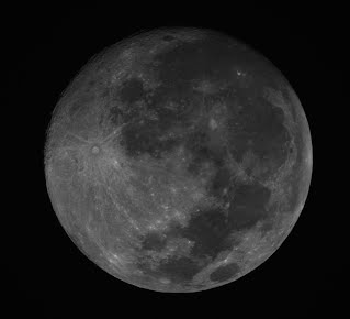 Moon in Hydrogen Alpha